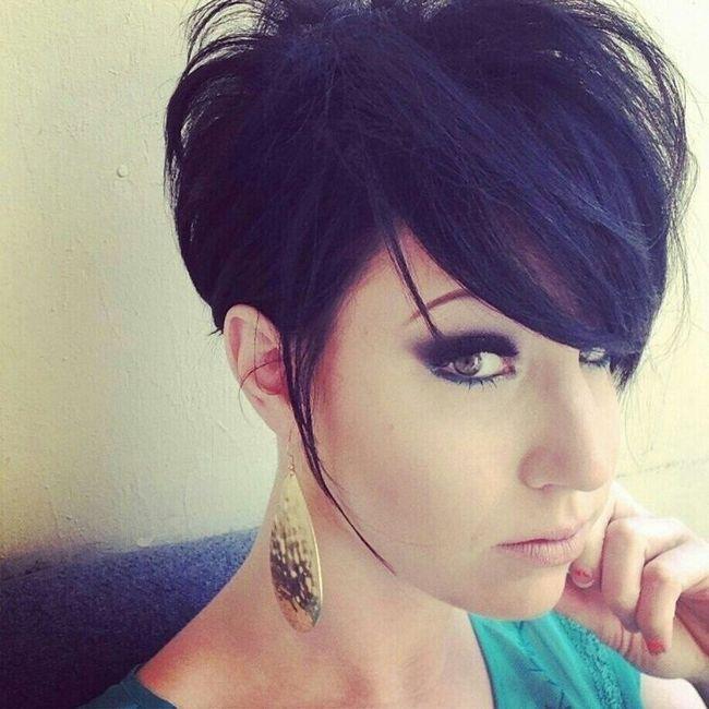 Chic Pixie corte de cabelo
