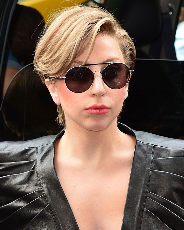 Lady Gaga Pixie corte de cabelo