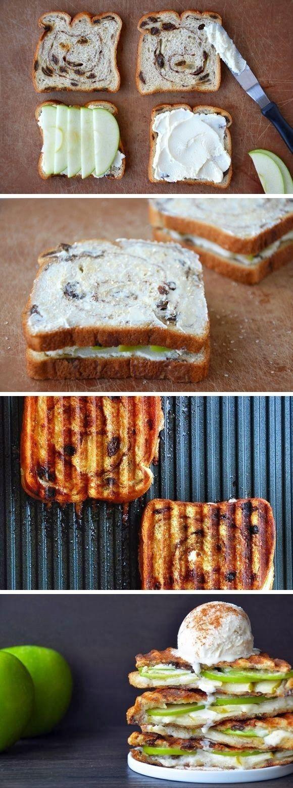 15 Receitas para fazer sobremesa sanduíches