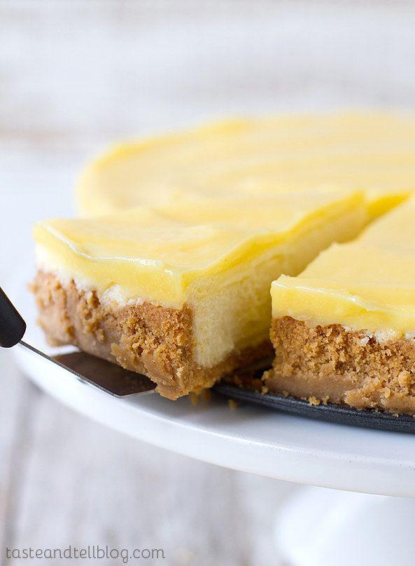 Animal Cracker-crosta de limão Cheesecake