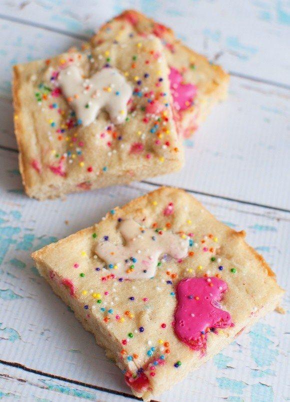 Circus Blondies biscoito Animais