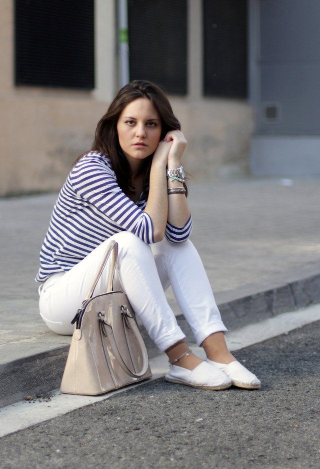 Casual-chic Idea Branco Jeans Outfit