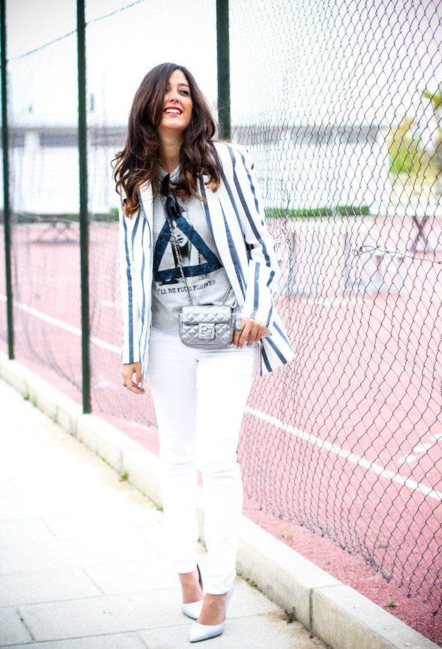 Chic Branco Jeans Outfit Idea