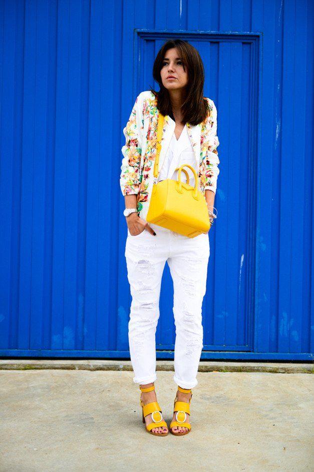 Elegante Branca Jeans Outfit Idea