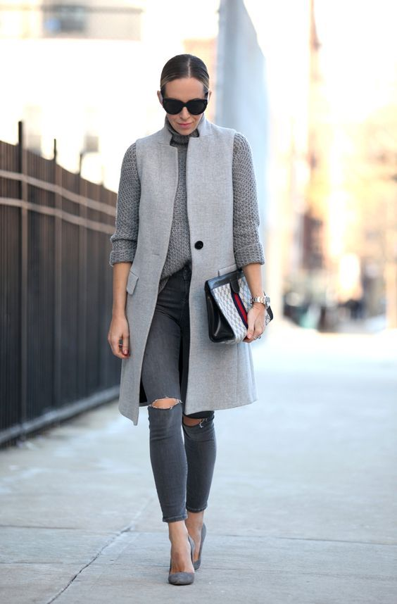 Cinza Outfit