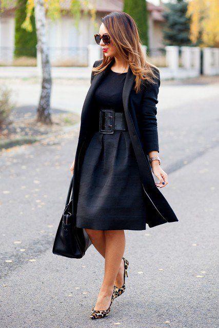 Outfit elegante para Dias de trabalho