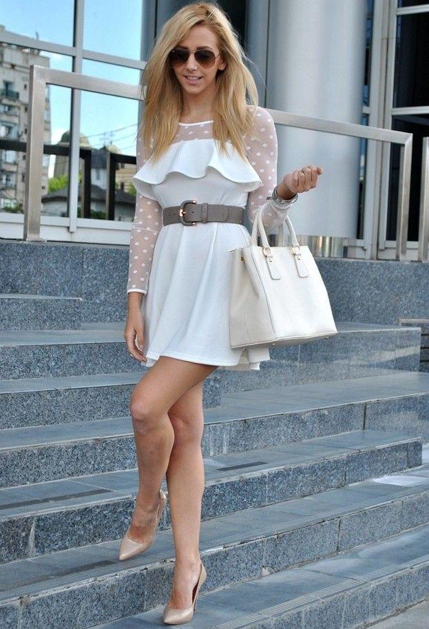 Consideravelmente vestido branco roupa para Mulheres Jovens