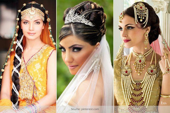 16 Penteados casamento indiano para o retrato noivas perfeitas