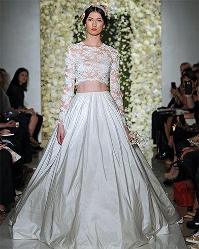 Melhores vestidos originais do casamento
