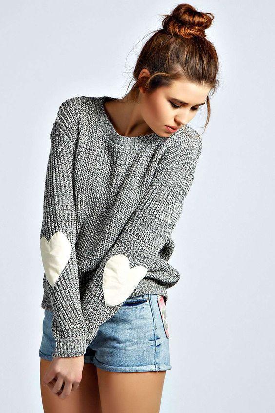 Camisola simples e Shorts via