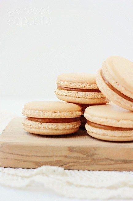 Caramelo salgado Macaron
