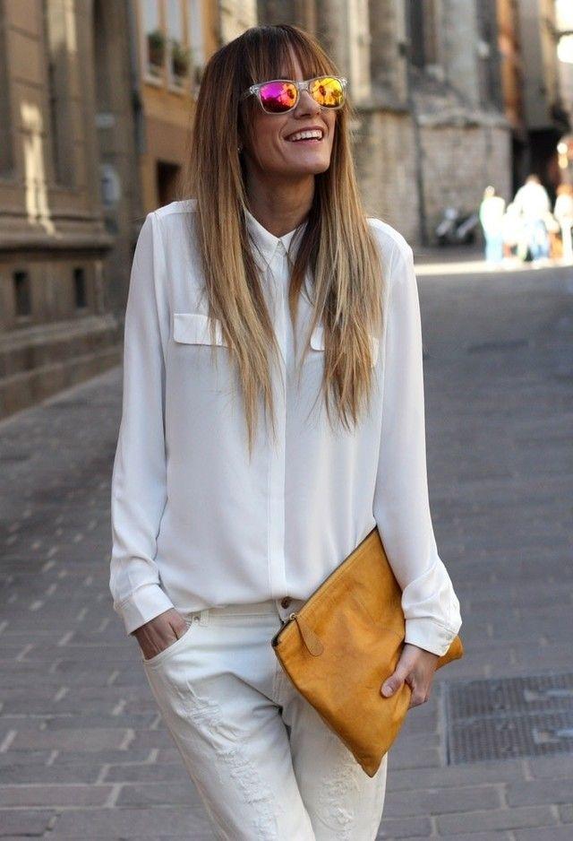 17 todas as White Idéias de combinação para Looks Primavera moda