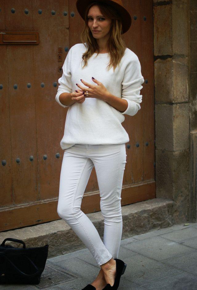 Todas as ideias combinadas brancos para a moda Primavera Aparência Hat