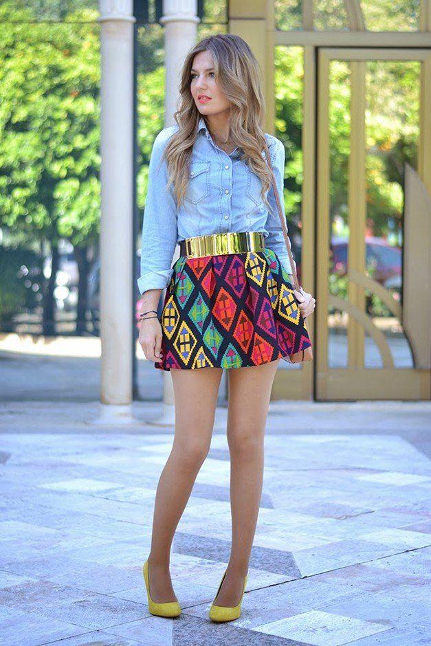 Idea equipamento à moda com Blusas Jeans
