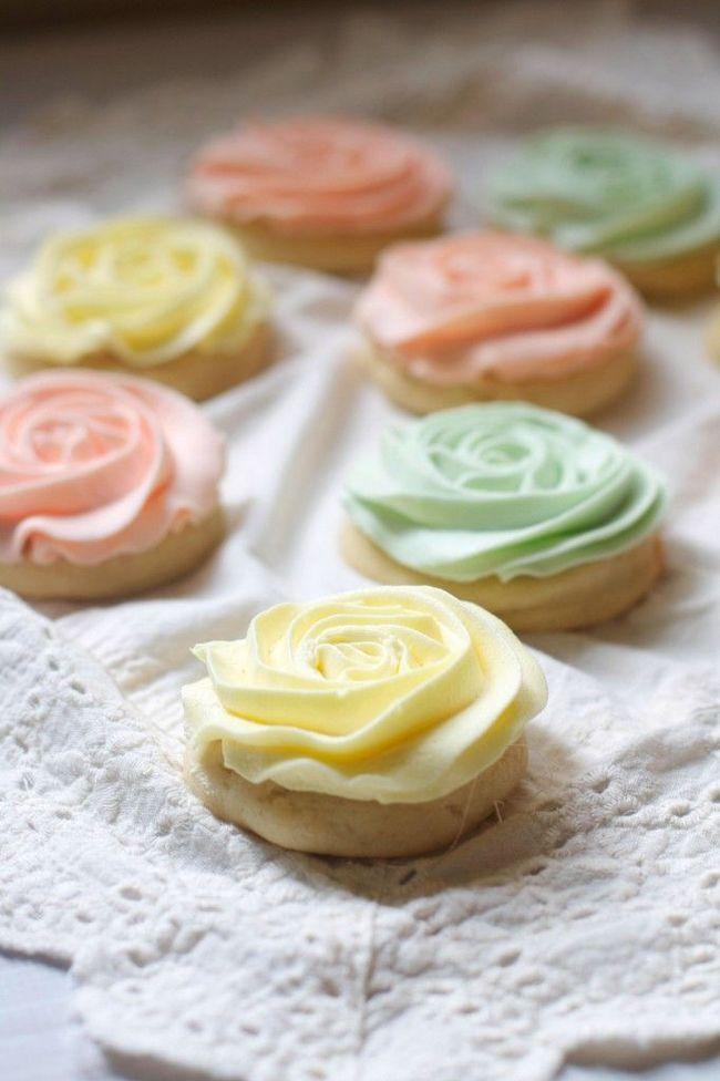 Pastel Rose bolinhos