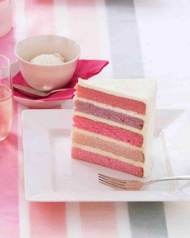 Layer Cake colorido
