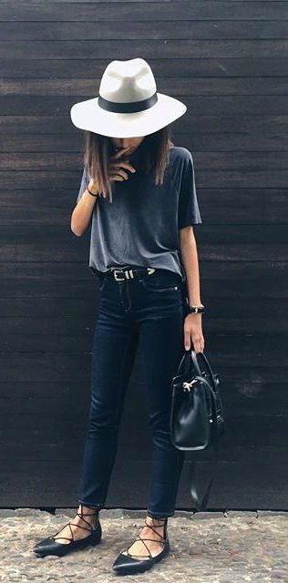 cinza e preto-roupa via