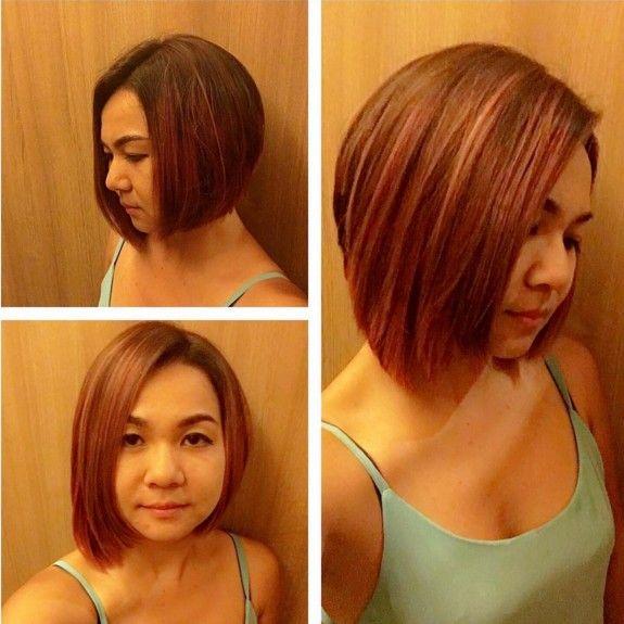 18 Penteados curtos bonitas para rostos redondos 2016