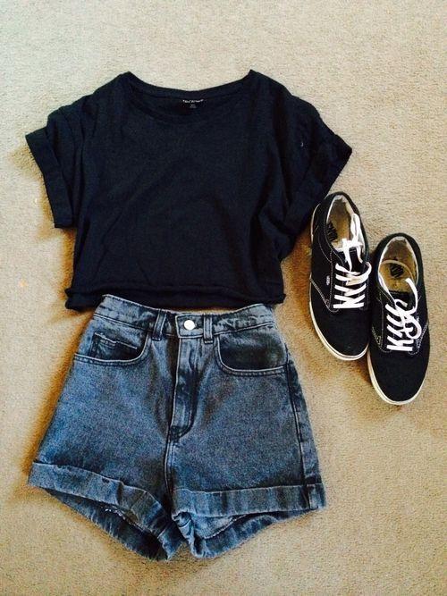 Black Top e Jeans via