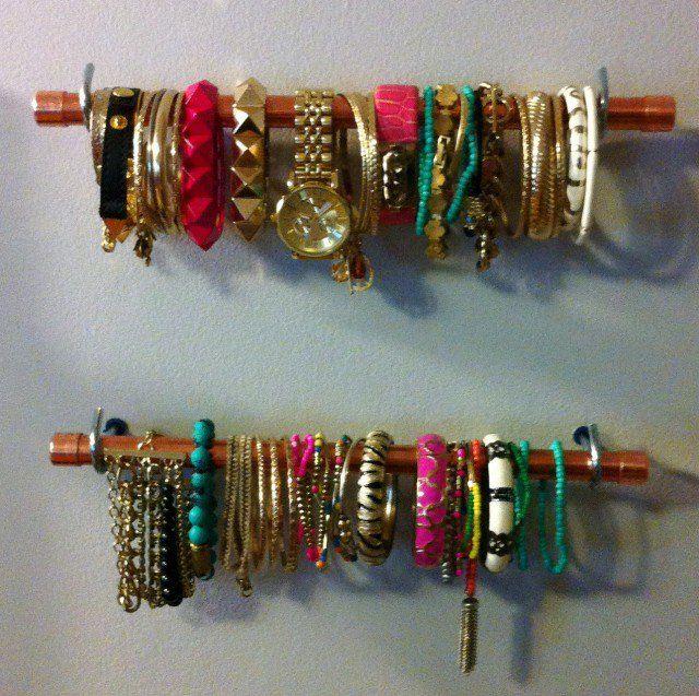 18 Ideias do organizador grandes jóias diy