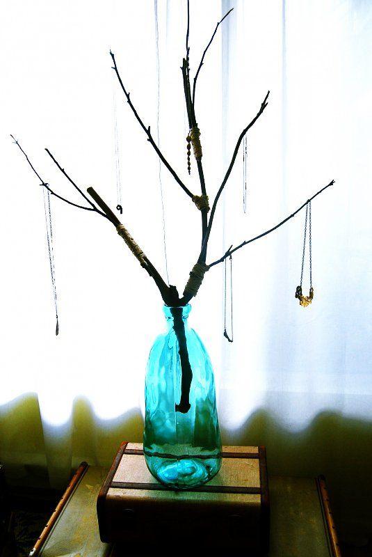 Árvore Jóias DIY