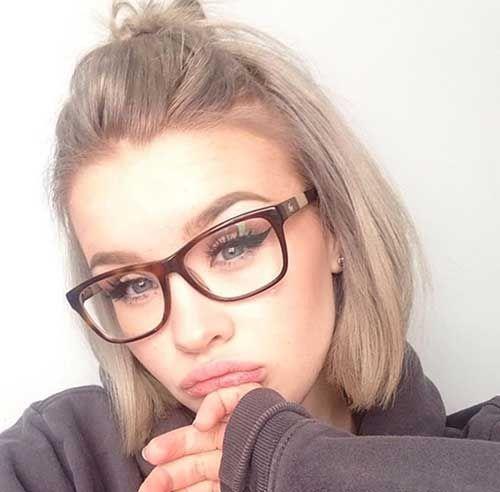19 Penteados fáceis curtas simples chique para cada meninas
