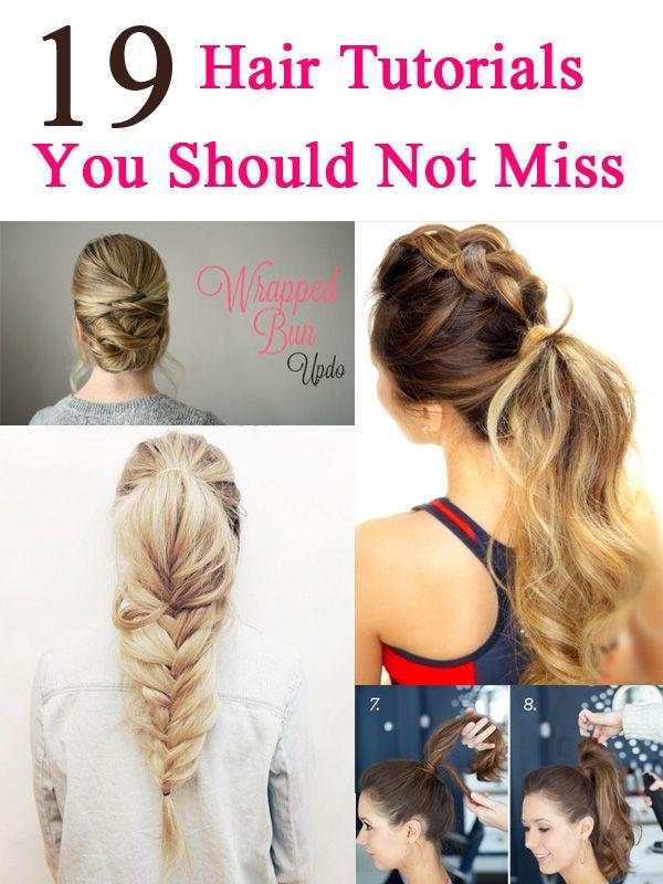19 Tutoriais de cabelo fáceis para o verão 2016
