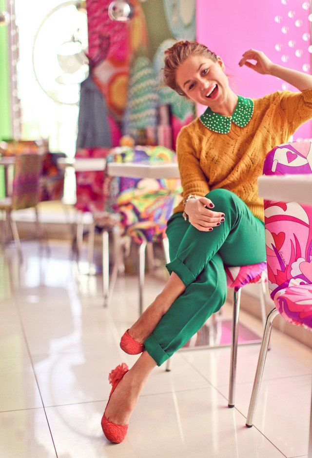 Retro-chic Idea Outfit por Mulheres
