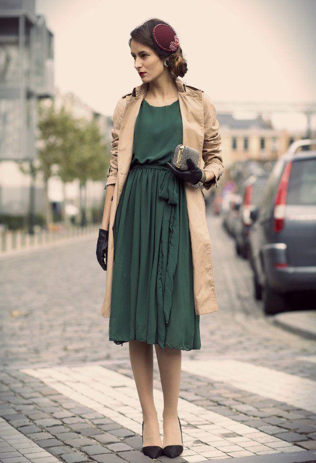 Elegante Idea Retro Outfit por Mulheres