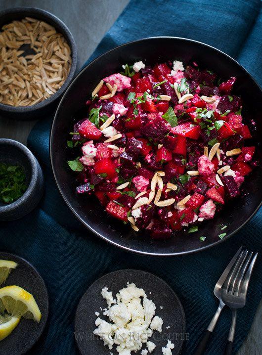 Picado salada de beterraba