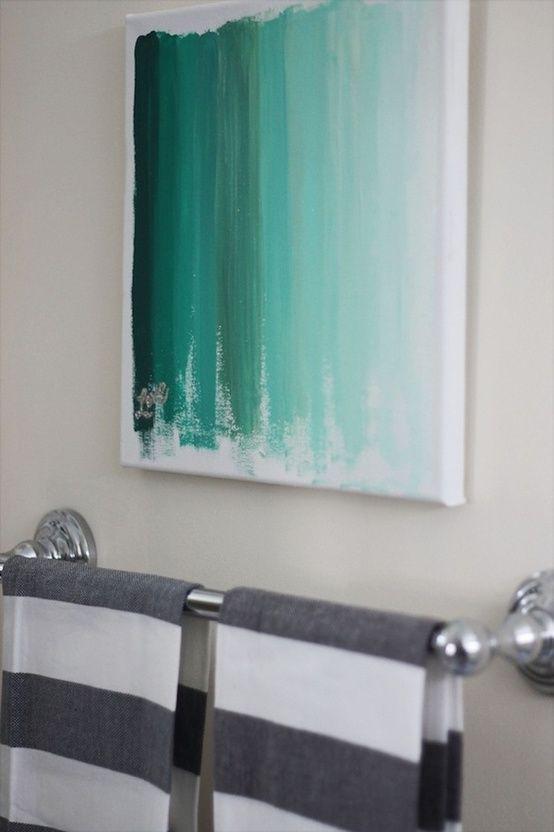 20 Ideias diy pintura para a arte da parede