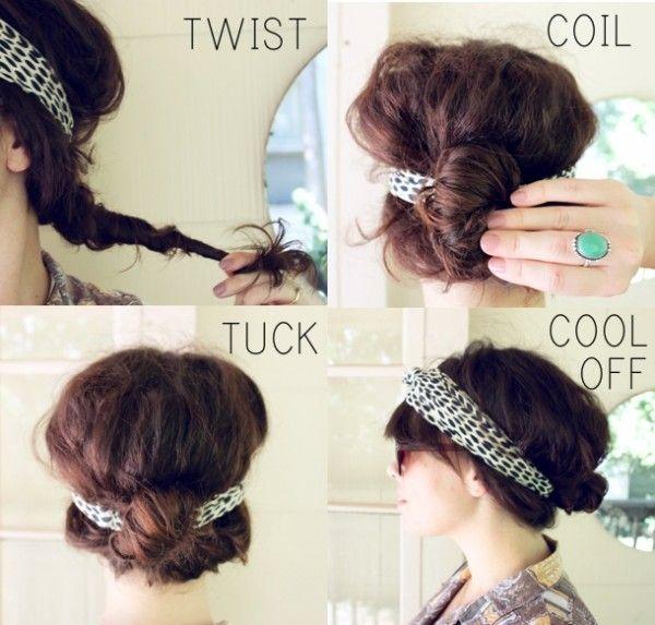 20 É fácil e atrevida tutoriais penteado diy