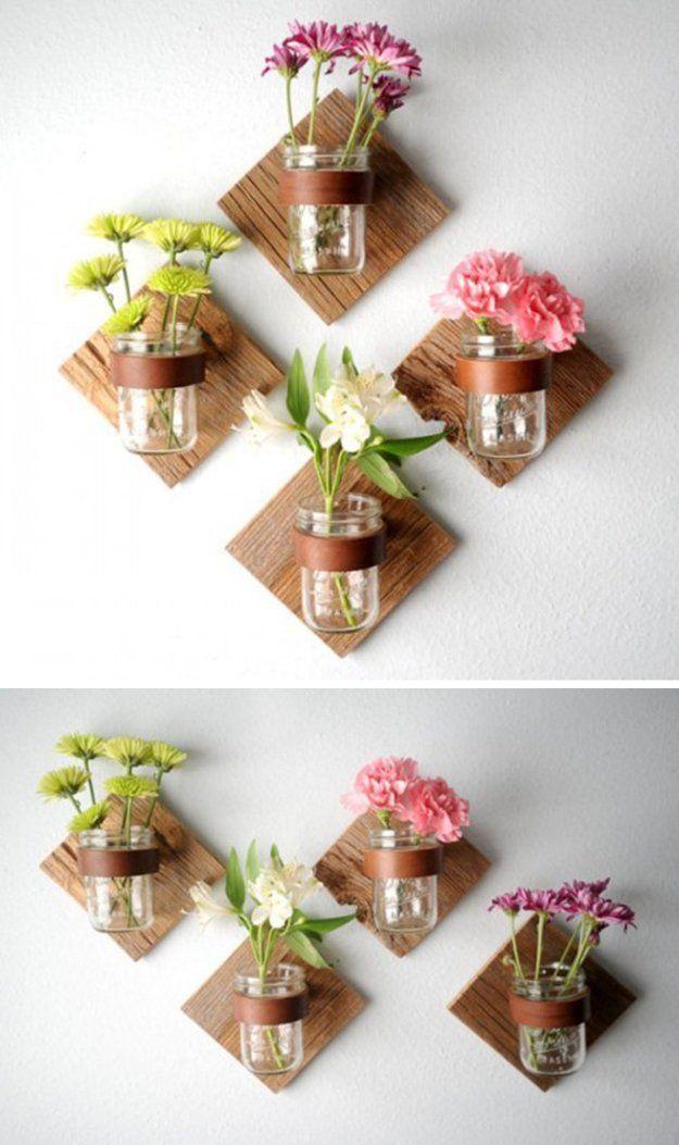 20 Projetos de jardinagem com frasco de pedreiro em casa