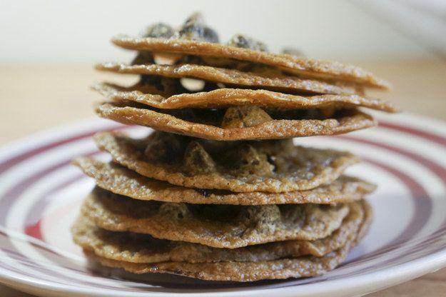 Os cookies delicados