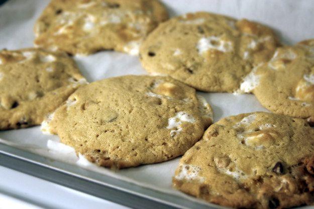 biscoitos do marshmallow