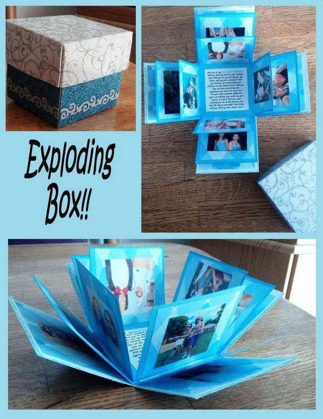 Box explodindo