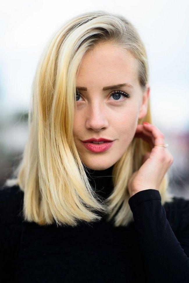 12 Penteados meados de comprimento bonitos para as mulheres