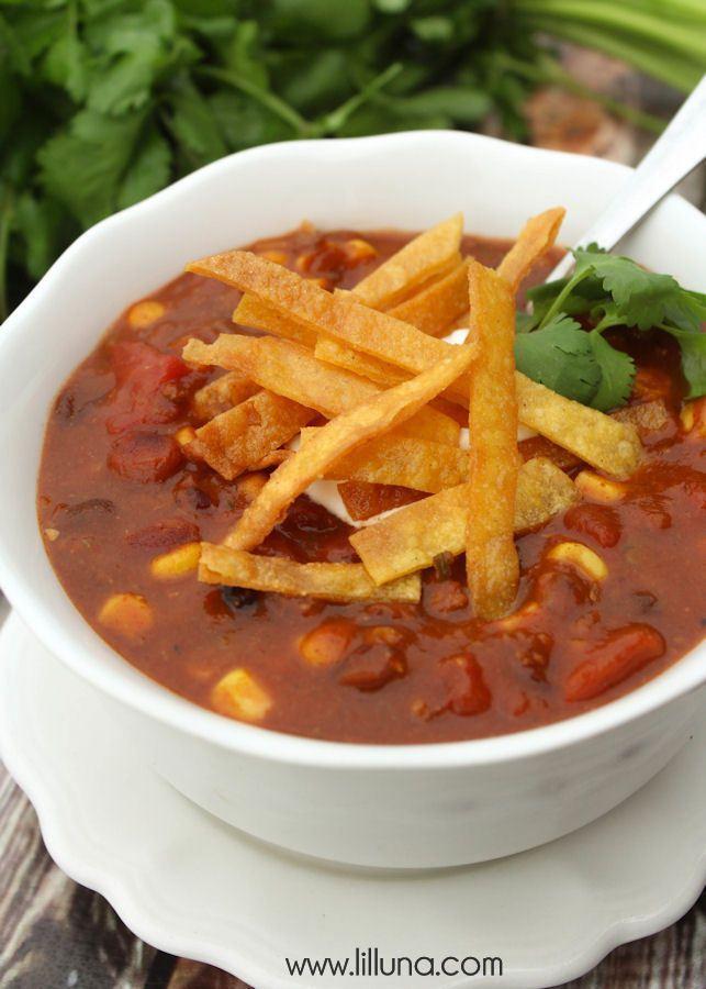 Taco Soup Receita