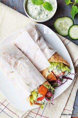 Vegetariana wrap grega