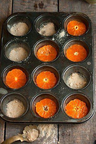 De cabeça para baixo Clementine Cakes