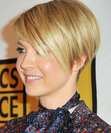 20 Penteados retas impressionante para cabelo curto