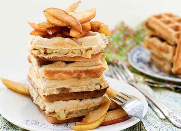 20 Receitas de waffle - cozinhar com o seu ferro de waffle!