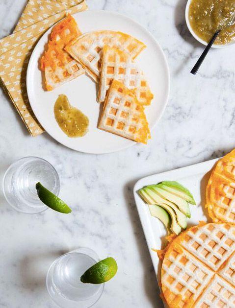 Waffle Receitas Ferro