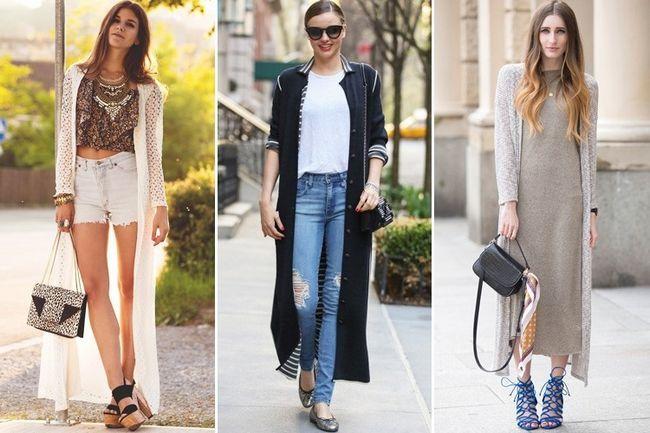 Cardigã longo Outfits