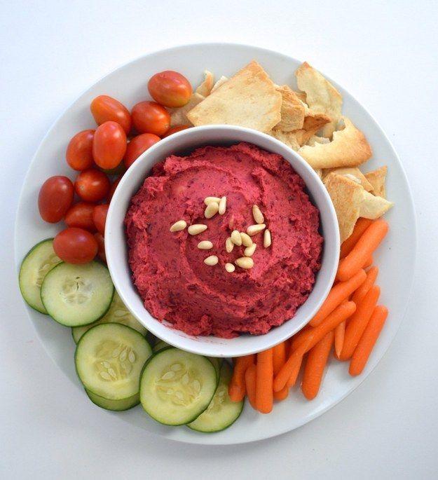 beterraba Hummus
