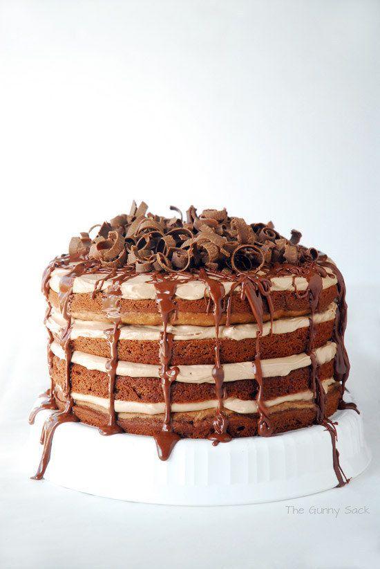 Chocolate e Nutella Torte