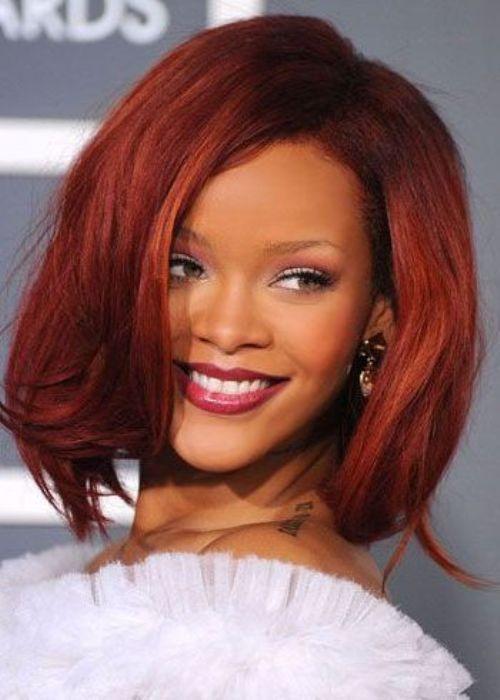 2015 Celebridade moda idéias da cor do cabelo e penteado fica para os amantes de cabelo vermelho