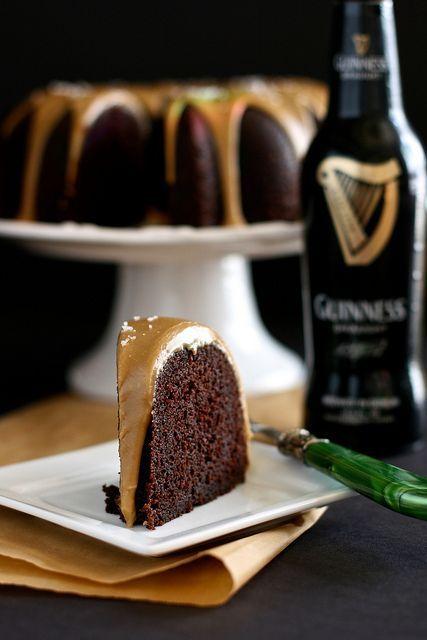 Guinness bolo de chocolate