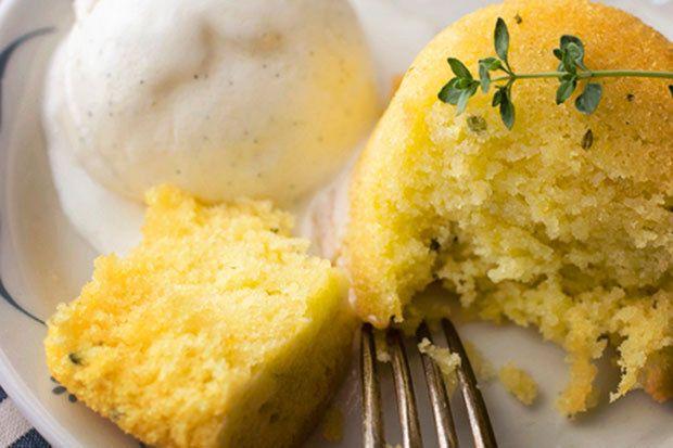 Tomilho limão Bolos