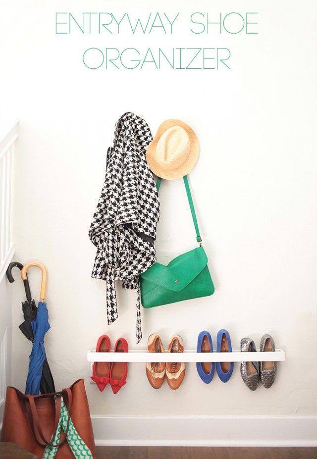 22 Maneiras surpreendentes para armazenar seus sapatos